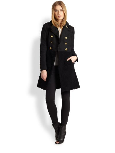 Military Coat - House of Burberry