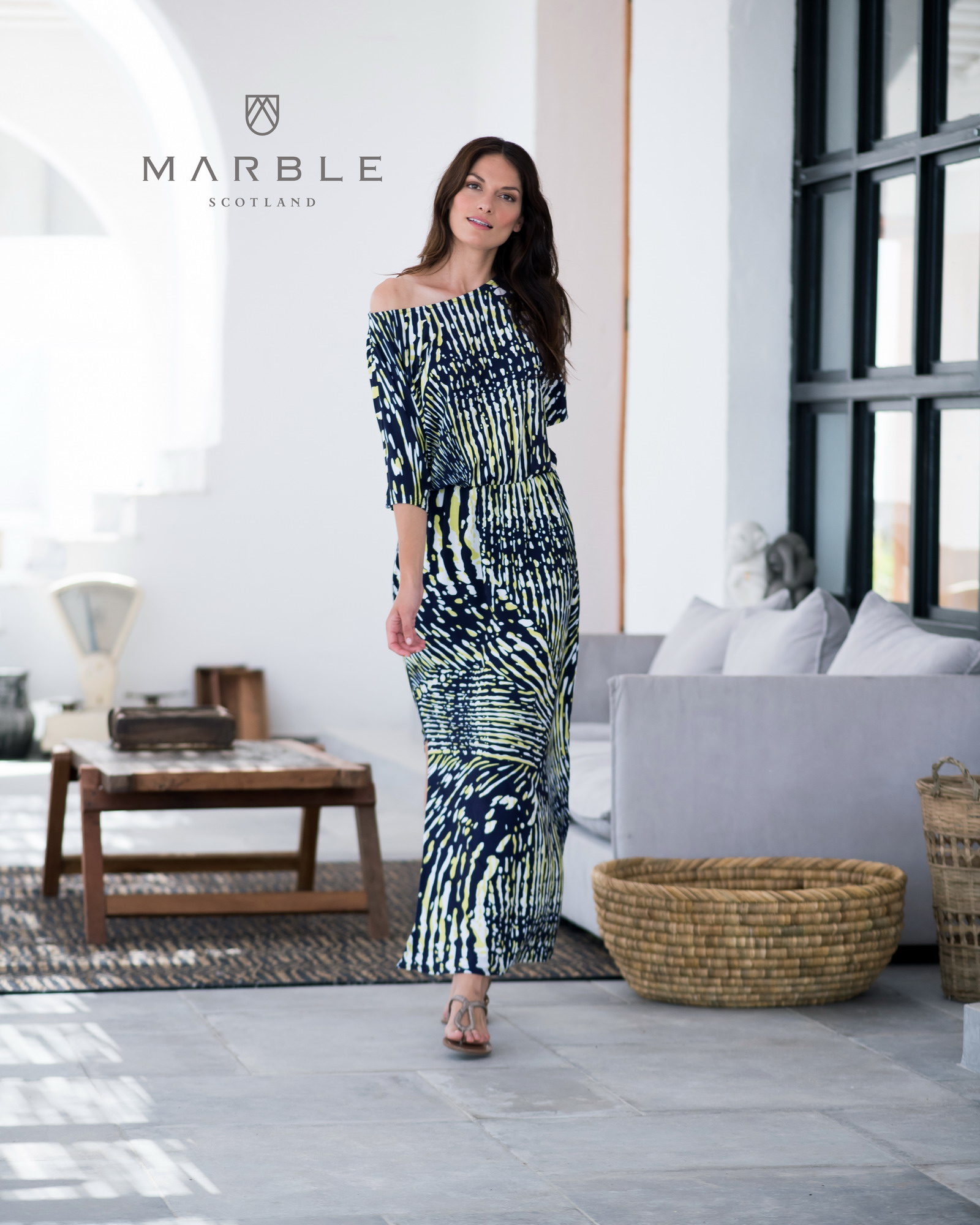 Marble Dress 5755 163